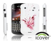 iCover BlackBerry 9900 Rubber (White)