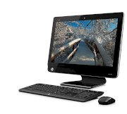 Máy tính Desktop HP Omni 220 All-in-One 220-1028l QU351AA (Intel Core i3-2120 3.3GHz, RAM 2GB ,PC3-10600MB, HDD 1TB, DVD+/-RW SM Double Layers, LCD 21.5 inch Thin-Film Transistor  LCD, Free Dos)