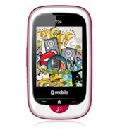 Q-mobile T24 White Pink