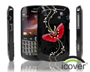 iCover BlackBerry 9900 Rubber (Purble)