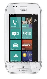 Nokia Lumia 710 White T-Mobile