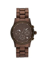 Đồng hồ DKNY Watch, Women's Chronograph Brown Aluminum Plated Stainless Steel Bracelet NY8349