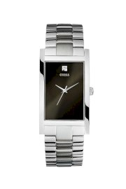 Đồng hồ Guess Watch, Men's Stainless Steel Bracelet 21mm G95374G