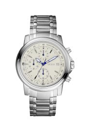 Đồng hồ Guess Watch, Men's Chronograph Stainless Steel Bracelet 44mm U15081G1