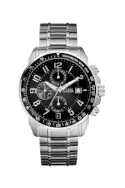 Đồng hồ Guess Watch, Men's Chronograph Stainless Steel Bracelet 46mm U15072G1
