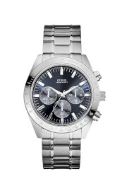 Đồng hồ Guess Watch, Men's Chronograph Stainless Steel Bracelet 43mm U12505G3