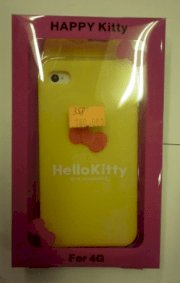 Ốp lưng Silicon Hello Kitty iPhone 4, 4S