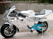 Moto Mini Giang Long 50cc SX-White