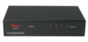 Rosewill RC-415 Gigabit Ethernet Desktop Metal Switch with Jumbo Frame support 10/100/1000Mbps 5 x RJ45