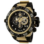 Invicta Men's 6583 Subaqua Noma IV Collection Chronograph Black Polyurethane Watch