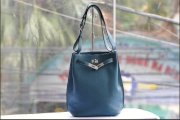 Hermes so kelly PM blue jean togo phw T9142-12