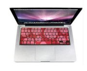 iSkin Protouch Vibes Apple MacBook/Pro/Air RED WILD CHERRY keyboard cover