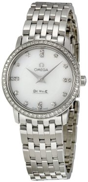 Omega Women's 413.15.27.60.55.001 DeVille Mother Of Pearl Dial Watch