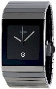 Rado Men's R21825152 Ceramica Black Dial Watch