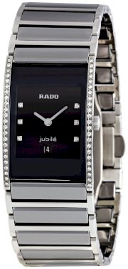 Rado Men's R20758752 Integral Black Dial Watch