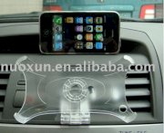 Multifunction phone holder with rotatable clip for 3G iphone (giá đỡ xe hơi cho iphone 3G)