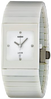 Rado Men's R21711702 Ceramica White Dial Watch