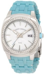 Tommy Bahama RELAX Women's RLX4014 Reef Diver Diving Look with Stones Pink Watch