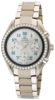 Omega Women's 3515.71.00 Speedmaster Reduced Diamond Bezel Automatic Chronograph Watch