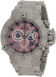 Invicta Men's 0961BBB Subaqua Noma III Chronograph All Shot-Blast Stainless Steel Watch