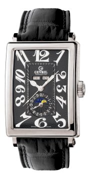 Gevril Men's 5032 Avenue of Americas Automatic Moon Phase Watch