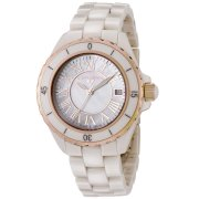 Swiss Legend Women's 20050-BGWRR Karamica Collection Beige High Tech Ceramic Watch
