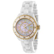 Swiss Legend Women's 20050-WWGR Karamica Collection Ceramic Watch