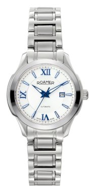 Roamer of Switzerland Women's 716561 41 23 70 Mechaline EOS Automatic Stainless Steel White Dial Date Watch