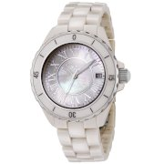 Swiss Legend Women's 20050-BGWSR Karamica Collection Beige High Tech Ceramic Watch