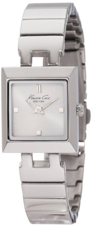 Kenneth Cole New York Women's KC4770 Classic Silver Dial Square Watch