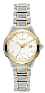 Roamer of Switzerland Women's 716561 47 25 70 Mechaline EOS Automatic Gold IP Stainless Steel Date Watch