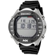 Seiko Men's STN009 Digital Diving Titanium Alloy Stainless Steel and Black Rubber Computer Watch