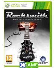 Rocksmith Authentic Guitar Games (XBox 360)