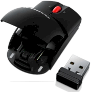 Lenovo Wireless Laser Mouse 0A36188