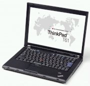 Lenovo Thinkpad T61 (Intel Core 2 Duo T7100 1.8GHz, 1GB RAM, 250GB HDD, VGA Intel GMA 950, 14.1 inch, Windowns XP Professional)