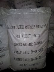 Calcium Chloride Anhydrous Powder CaCl2 96%