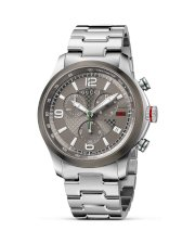 Gucci G Timeless Stainless Steel Watch with Anthracite Diamante Dial, 40mm
