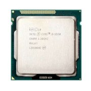 Intel Core i5-3550 (3.3GHz turbo up 3.7GHz, 6MB L3 cache, Socket 1155)