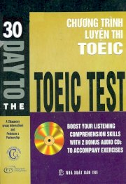 30 Day To The Toeic Test (With 2 Audio CDs)