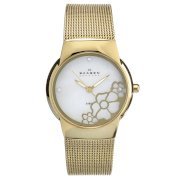 Skagen Women's 881SGG Japan Quartz Movement Analog Watch
