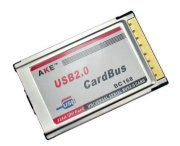 Card AKE PCMCIA to USB2.0 x 2 Adapter