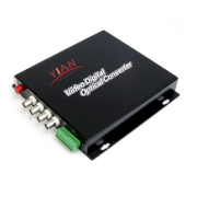 4 Channel Video Optical Transmitter & Receiver