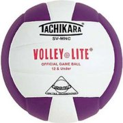 Tachikara Volley-Lite Colored Official Game Volleyball, Multi-Color, XXXL
