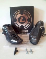 Luigino Sting inline speed skating boots sizes 14, or 15