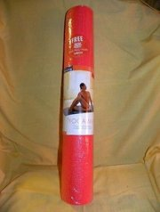 "Gaiam 24"" X 68 Yoga/Pilates Mat With Mind/Body/Health Sample DVD"