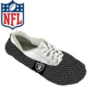 KR NFL Shoe Covers - Oakland Raiders