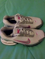 Nike Air Maxair Torch 3 Women's Size 5 White Silver Pink New Running Shoes