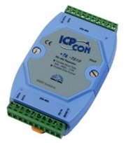 RS-485 RS-422 Three Way Isolated High Speed Repeater(Converter), ICP DAS I-7510AR