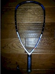 Ektelon EXO3 Attack 175g Racquetball Racquet, Racquet Cover, Weighted Bridges