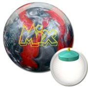 Storm Mix Bowling Ball - Red/Silver Pearl Urethane